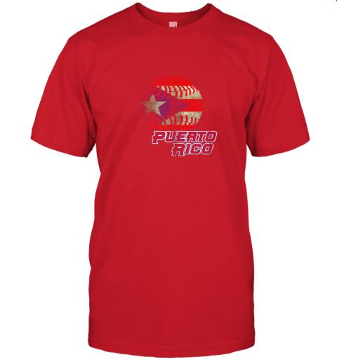 5wvn puerto rico baseball flag shirt boricua pride jersey t shirt 60 front red