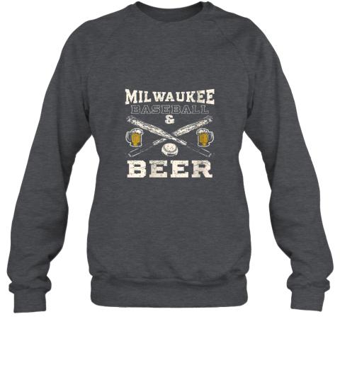 zmgw love milwaukee love baseball sweatshirt 35 front dark heather