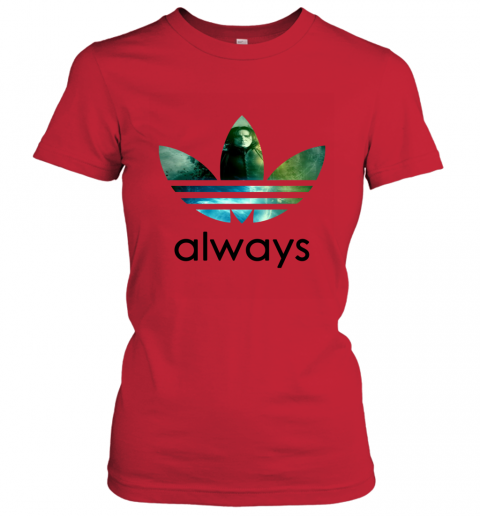 x4vk adidas severus snape always harry potter shirts ladies t shirt 20 front red