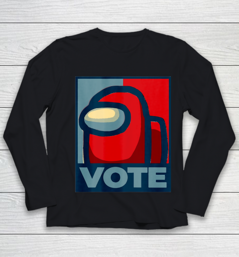 Who is the Impostor neu Among with us start the vote Youth Long Sleeve