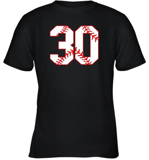 Thirtieth Birthday Party 30th Baseball Shirt Born 1989 Youth T-Shirt