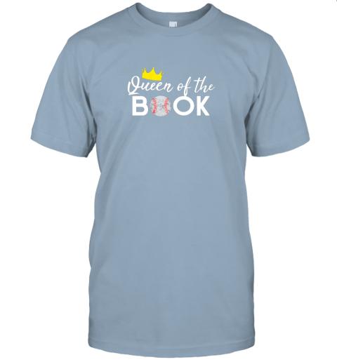vkfk scorekeeper baseball team scorebook queen jersey t shirt 60 front light blue