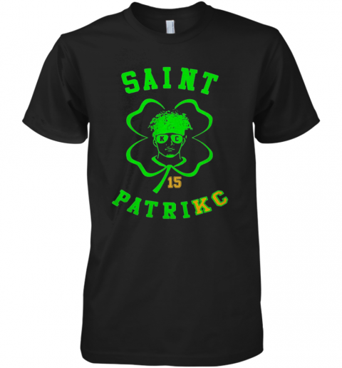Mahomes Kansas City Saint 15 Patrick Premium Men's T-Shirt