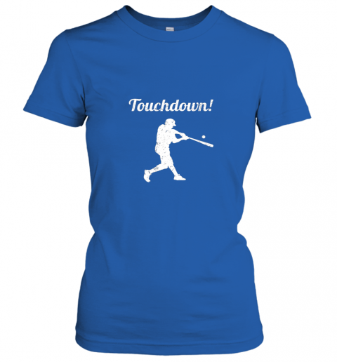 mp1f touchdown funny baseball ladies t shirt 20 front royal