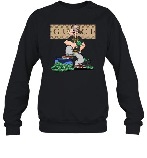 Gucci Cartoon Adult Crewneck Sweatshirt