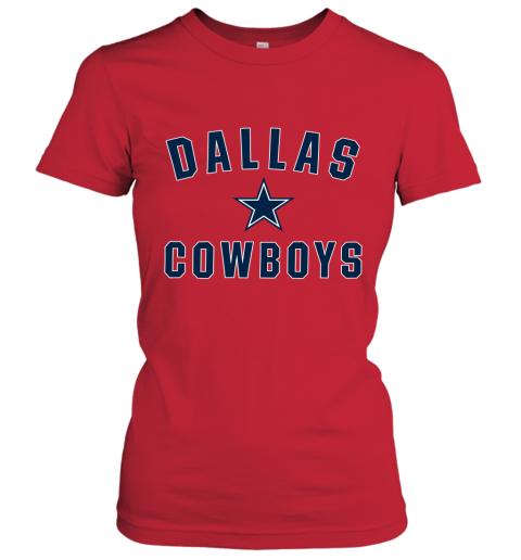 Dallas Cowboys NFL Pro Line by Fanatics Branded Gray Women's T-Shirt