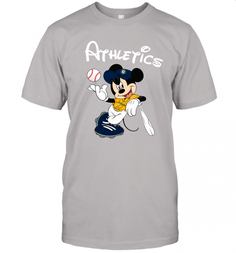 Baseball Mickey Team Oakland Athletics Unisex Jersey Tee