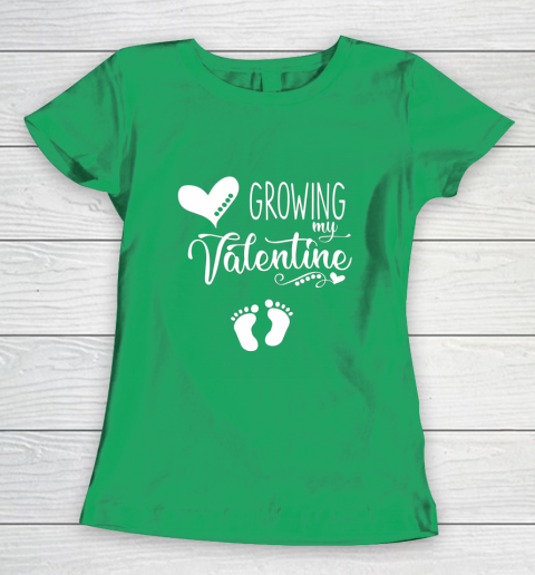 Growing my Valentine Tshirt for Wife Women's T-Shirt 5