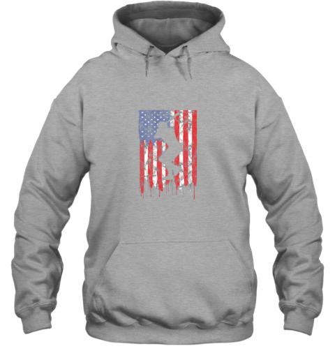 rpro vintage patriotic american flag baseball shirt usa hoodie 23 front sport grey