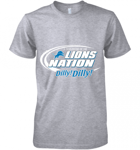 kbug a true friend of the lions nation premium guys tee 5 front heather grey