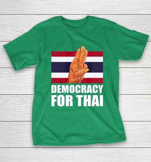 Democracy for Thailand Free Thai Protest Bangkok Support T-Shirt 5