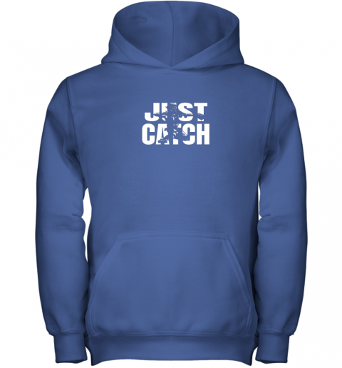 pqr4 just catch baseball catchers gear shirt baseballin gift youth hoodie 43 front royal