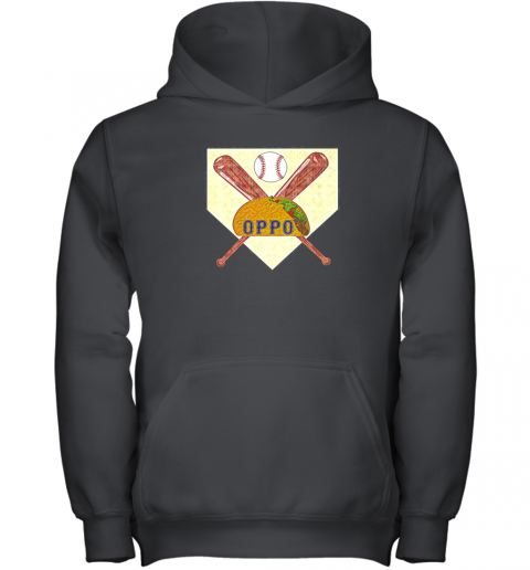 The Official Oppo Baseball Lovers Taco Youth Hoodie