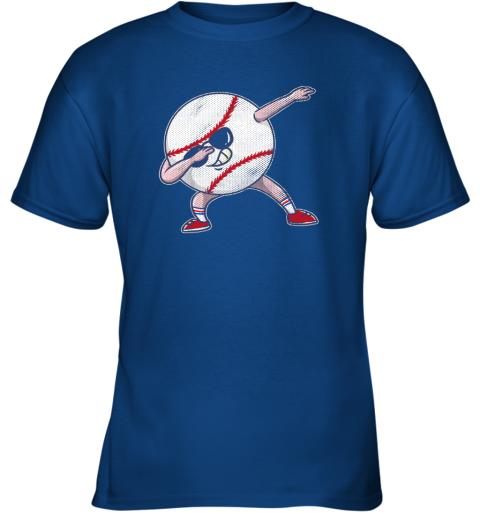 bp5q kids funny dabbing baseball player youth shirt cool gift boy youth t shirt 26 front royal