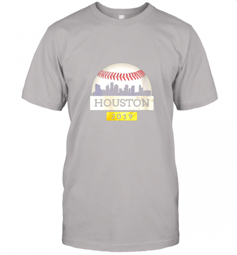 j2px houston baseball shirt 2019 astro skyline on giant ball jersey t shirt 60 front ash