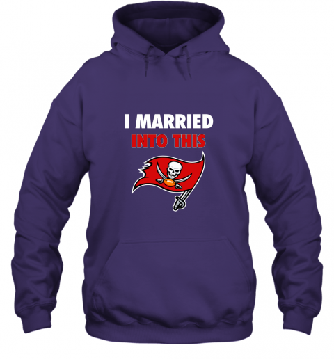 lksx i married into this tampa bay buccaneers football nfl hoodie 23 front purple