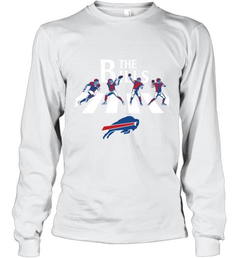 NFL Buffalo Bills The Beatles Abbey Road Walk Long Sleeve T-Shirt