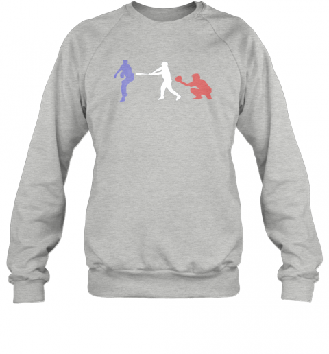 rfwr baseball usa flag american tradition spirit sweatshirt 35 front sport grey