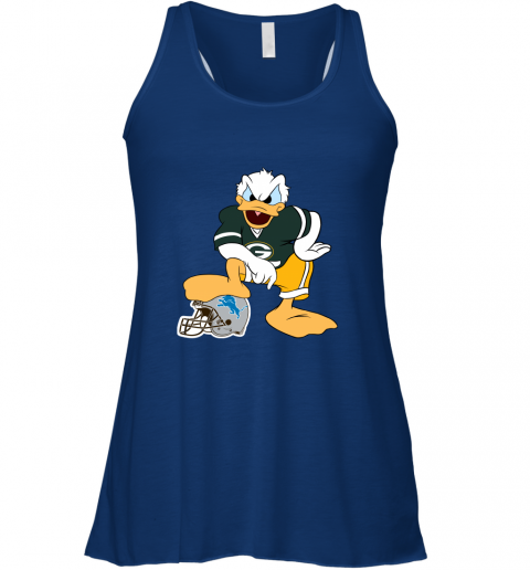 9qmn you cannot win against the donald green bay packers nfl flowy tank 32 front true royal