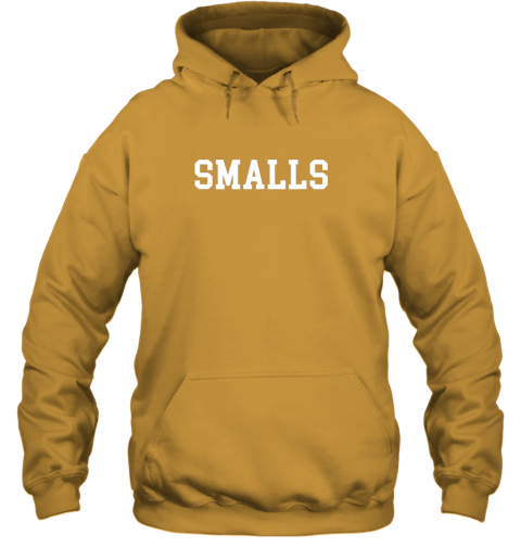 j49x smalls shirt funny baseball gift hoodie 23 front gold