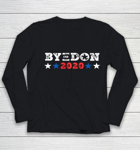 ByeDon Shirt 2020 Joe Biden 2020 American Election Bye Don Youth Long Sleeve