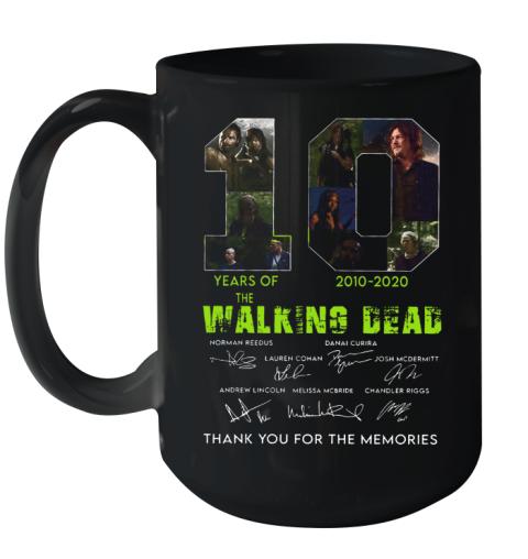 10 Years Of The Walking Dead 2010 2020 Anniversary Ceramic Mug 15oz
