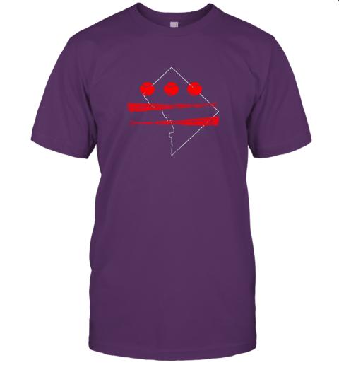 ikrl washington dc map capitol baseball flag jersey t shirt 60 front team purple