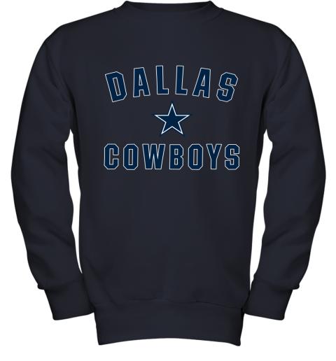 Dallas Cowboys NFL Pro Line by Fanatics Branded Gray Youth Sweatshirt