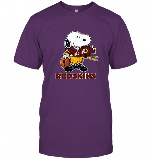 Snoopy A Strong And Proud Washington Redskins Player NFL Unisex Jersey Tee