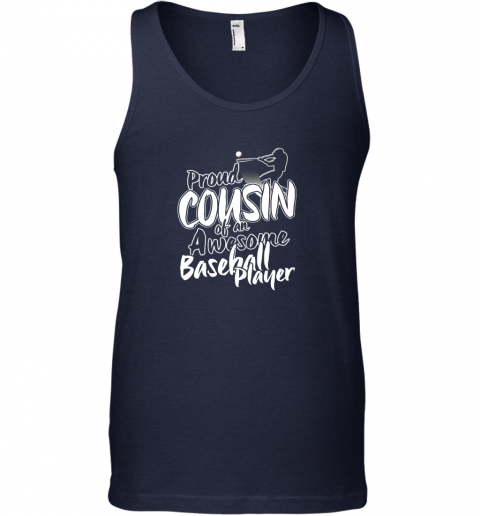 gslm cousin baseball shirt sports for men accessories unisex tank 17 front navy