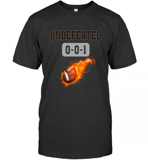 NFL OAKLAND RAIDERS Undefeated T-Shirt