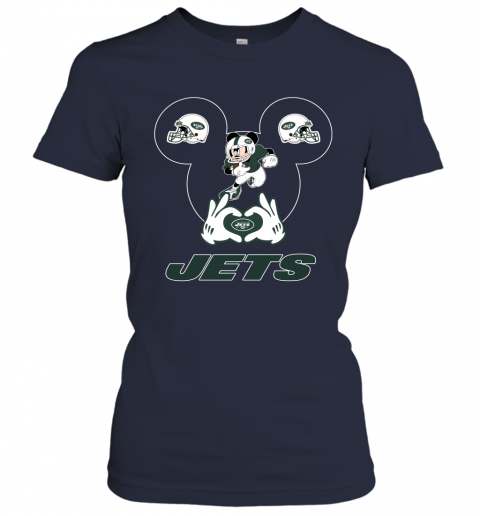 p4io i love the jets mickey mouse new york jets ladies t shirt 20 front navy