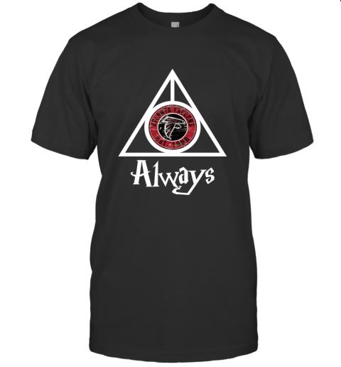 Always Love The Atlanta Falcons x Harry Potter Mashup NFL T-Shirt
