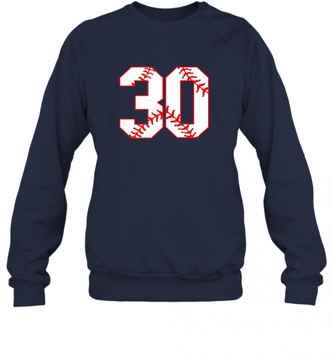 swki thirtieth birthday party 30th baseball shirt born 1989 sweatshirt 35 front navy