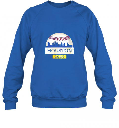 ve1t houston baseball shirt 2019 astro skyline on giant ball sweatshirt 35 front royal