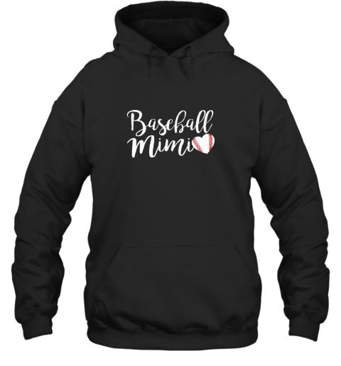 Funny Baseball Mimi Shirt Gift Hoodie