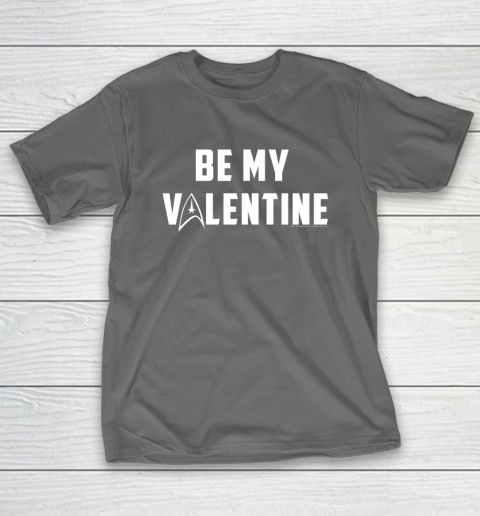 Star Trek Be My Valentine Delta Badge Graphic T-Shirt 8