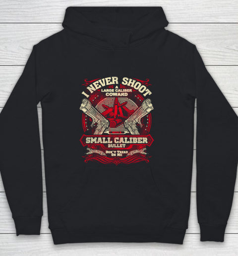 Veteran Shirt Gun Control I Never Shoot Youth Hoodie
