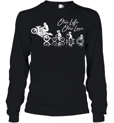 Motor One Life One Love Youth Long Sleeve
