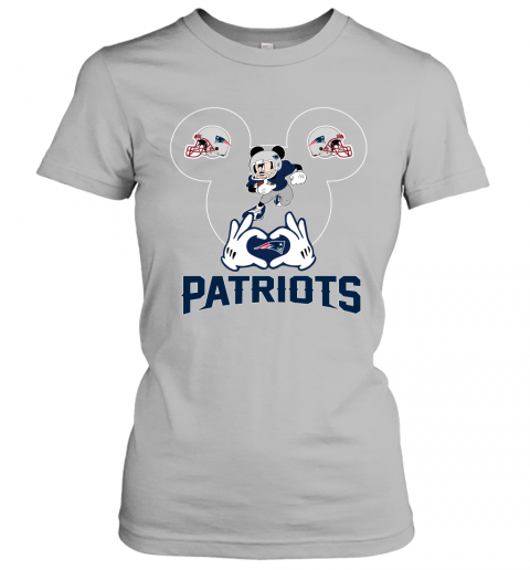 ttdd i love the patriots mickey mouse new england patriots ladies t shirt 20 front sport grey