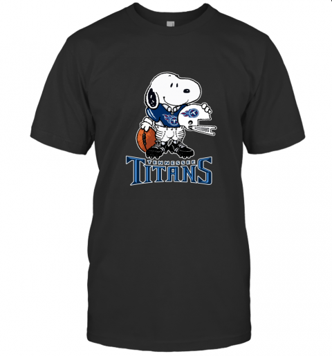 Snoopy A Strong And Proud Tennessee Titans NFL T-Shirt