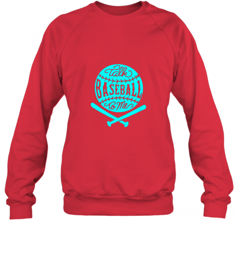 1lxx talk baseball to me groovy ball bat silhouette sweatshirt 35 front red