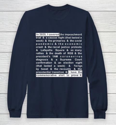 Jim Acosta Long Sleeve T-Shirt 2