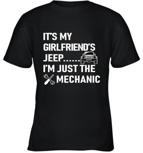 Mechanic Girlfriend Youth T-Shirt