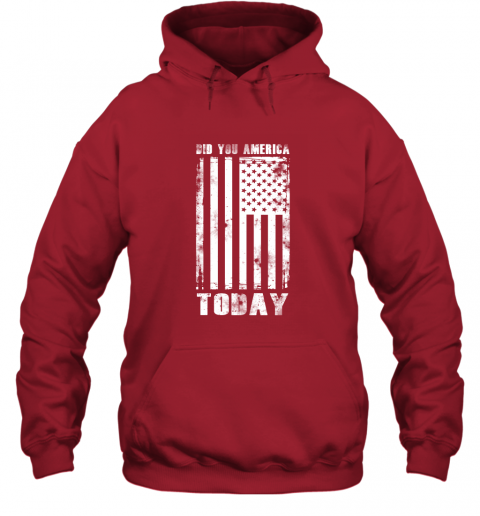 Did You America Today Hoodie