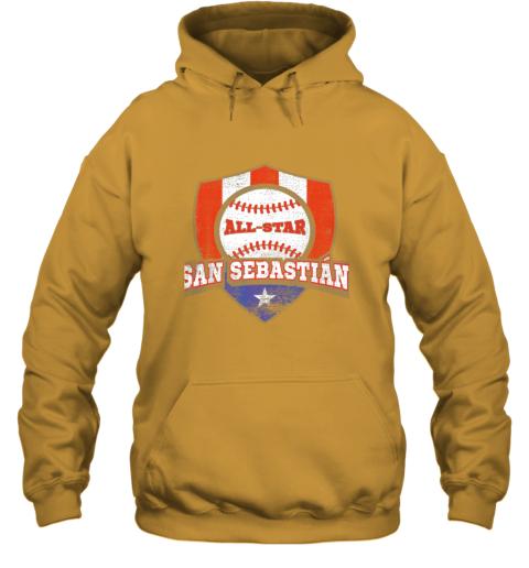 v2ag san sebastian puerto rico puerto rican pr baseball hoodie 23 front gold