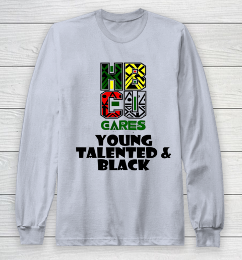 HBCU Cares College University Graduation Gift Black Schools Shirt Long Sleeve T-Shirt 4