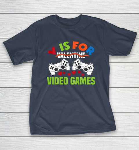 Funny Video Games Lover Valentine Day T-Shirt 3