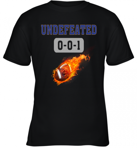 NFL BALTIMORE RAVENS Logo Undefeated Youth T-Shirt