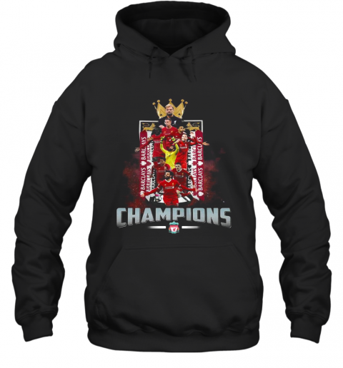Liverpool Football Club The King Champions Hoodie